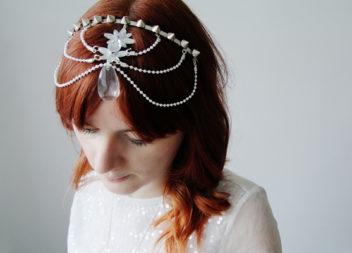 Accessori per capelli della sposa