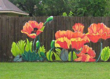 Idee su dipinto di recinzioni