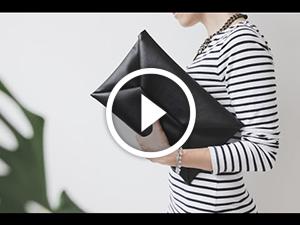 Borsa-frizione alla moda.Video-lezione