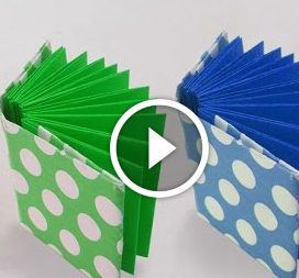 Mini-libro in tecnica Origami