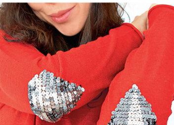 Gomito maglione fai da te
