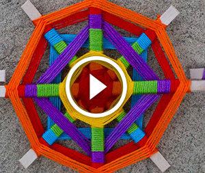 Mandala di fili. Video-lezione