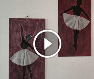 Decorazione a tematica balletto
