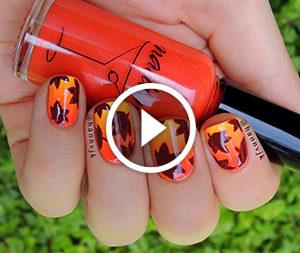 Manicure d'autunno.Video-lezione