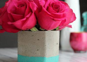 Vaso di cemento