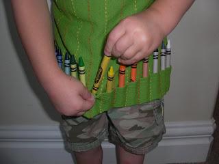 Grembiule per un bambino creativo