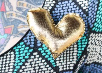 Idea su spilla:facciamo un cuore