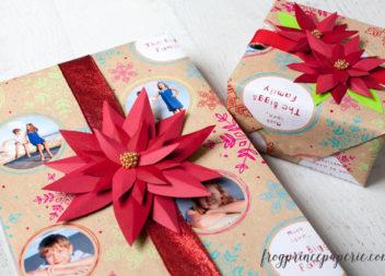 Creazione del fiore per un regalo