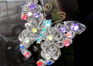 Farfalla in alluminio per la cottura