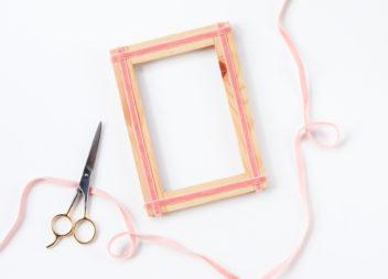 Decorazione della cornice: minimalismo