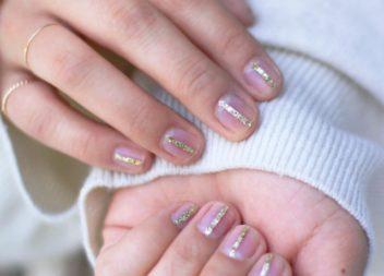 Manicure oro