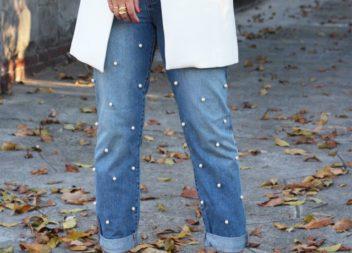 Decorazione jeans