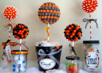 Decorazione di Halloween: Idea per il candy-bar