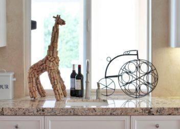 Idee d'uso dei tappi di vino in arredamento