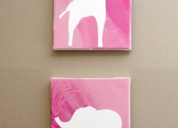 Arte in silhouettes: master-class