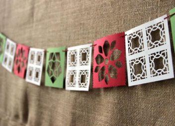 Ghirlanda di carta: decorazione per le feste