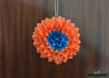 Fiore-origami: idea festiva