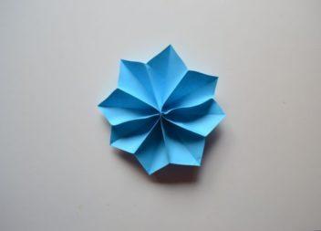 Fiore di carta: lezione origami