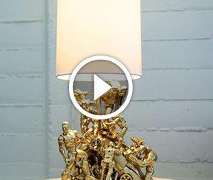 Decorazione lampada: un'idea per i ragazzi