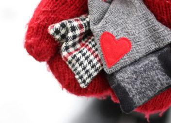 Sacchetti con riso - teniamo le mani al caldo