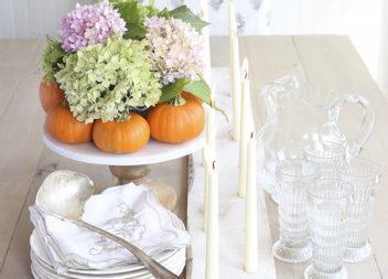 Candeliere in legno: stile e semplicità