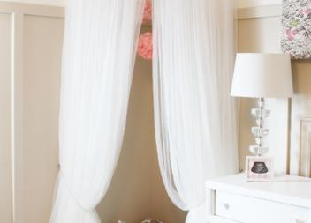 Angolo accogliente: facciamo il letto baldacchino