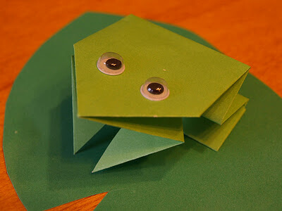 How to Make an Origami Jumping Frog (with Pictures) - wikiHow | 300x400