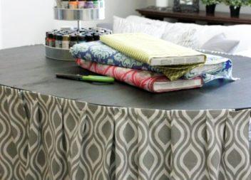 Lifehack: la tenda per tavolo