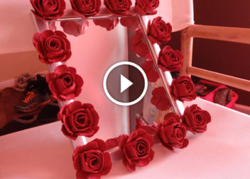 Trasformiamo il cartone in rose