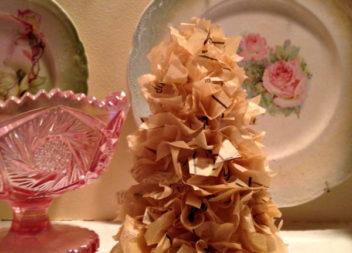 Albero di Natale insolito: cucito festivo