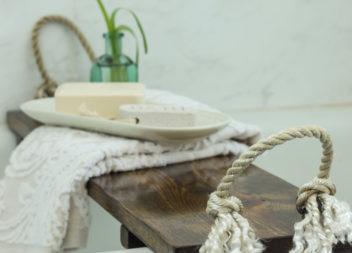 Tavolo da vasca: relax con comfort
