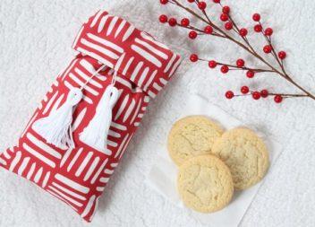 Borsa per biscotti:cuciamo da soli