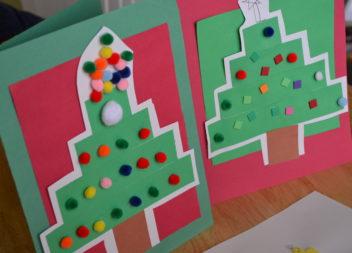 Applicazione di Natale: ricamo con i bambini
