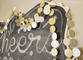 Ghirlanda di carta: decorazioni per le feste