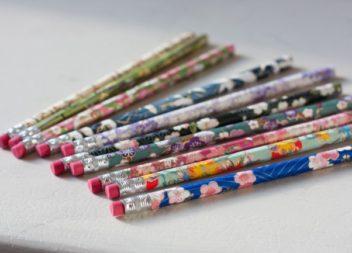 Decorazione delle matite: master-class