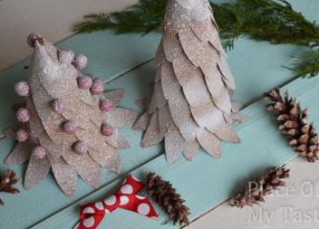Albero di Natale di carta: handmade con i bambini