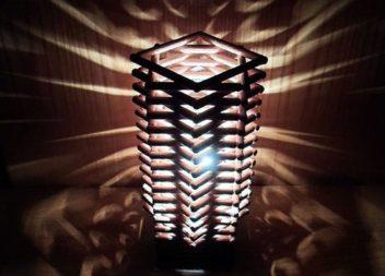 Decorazione lampada in stile moderno