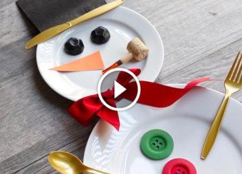 Idee su come apparecchiare la tavola di Natale: video-lezione