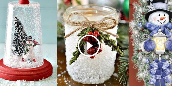 30 idee per l'arredamento di Natale: video tutorial