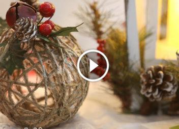 Decorazioni natalizie: decoriamo la stanza per le feste!