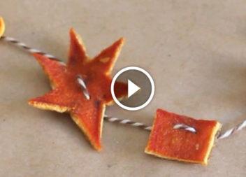 Ghirlanda di agrumi secchi:video-lezione