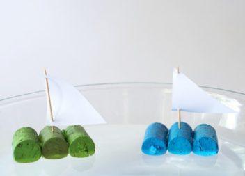 Nave di tappi: master-class