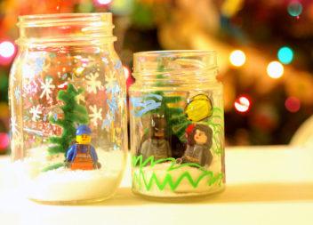 Lego nel barattolo: l'inverno è arrivato