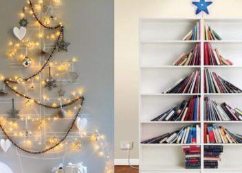 20 idee alternative al solito albero di Natale
