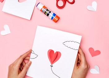 Cartoline creative di San Valentino fai da te. Master-classe e foto