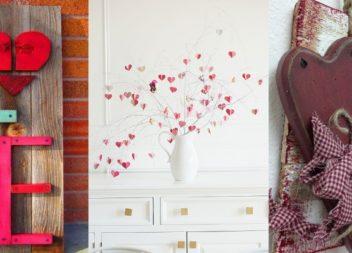 15 ottimi modi per decorare la tua casa per San Valentino