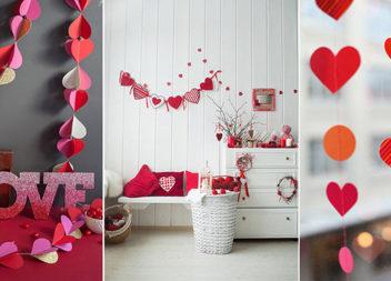 Decorazione di San Valentino: 30 idee per tutta la casa