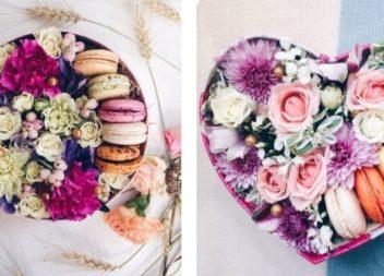 Fiori in una scatola di dolci: 20 idee insuperabili