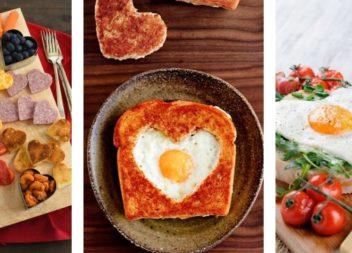 Idee romantiche su colazione di San Valentino