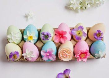 Uova e fiori.15 idee uniche per la Pasqua